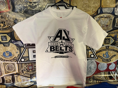 AJ's Belts Inc Logoed T-Shirts