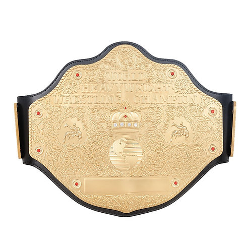 WCW World Heavyweight Championship W/ Custom Name Plate and Hanger