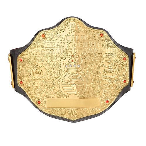 World Heavyweight Big Gold (2MM) W/ Hanger & Custom Name Plate