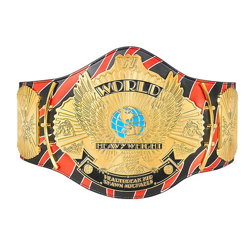 Shawn Michaels Signature Series Winged Eagle Belt