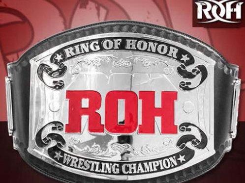 ROH Classic World Championship Belts