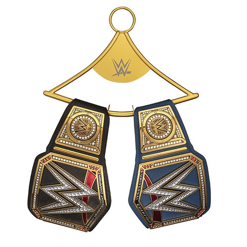 WWE REPLICA CHAMPIONSHIP TITLE HANGER