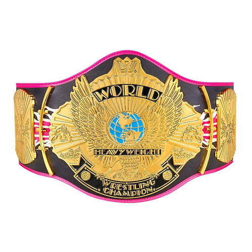 Bret Hart Signature Series Winged Eagle Belt