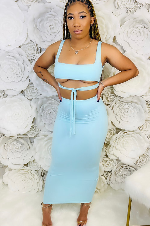 Mint 2 Be Skirt Set
