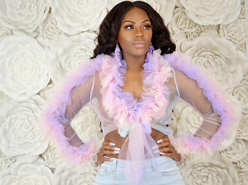 Birthday Cotton Candy Blouse