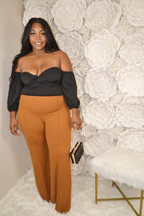 Cognac Dress Pants