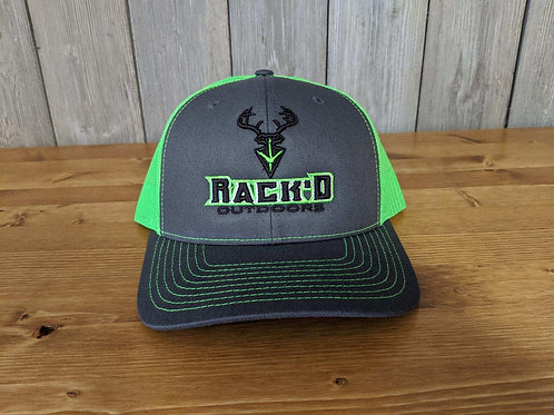 Richardson 112 Logo Hat Neon Green