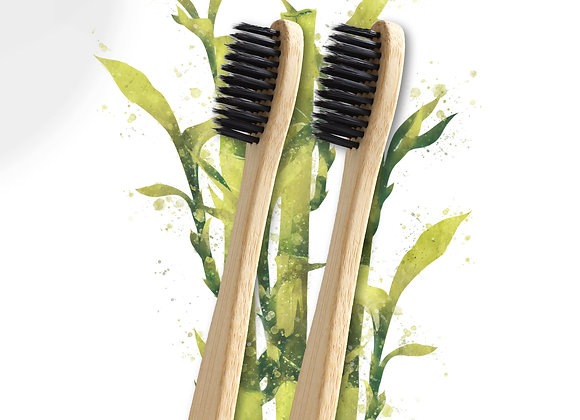 Eco Bamboo Toothbrush 2 Pack