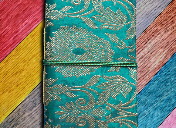 Emerald & Gold Lotus Notes journal