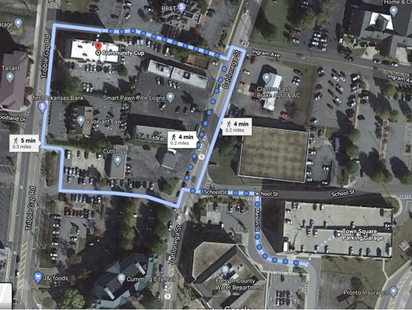 community cup and race parking map.png