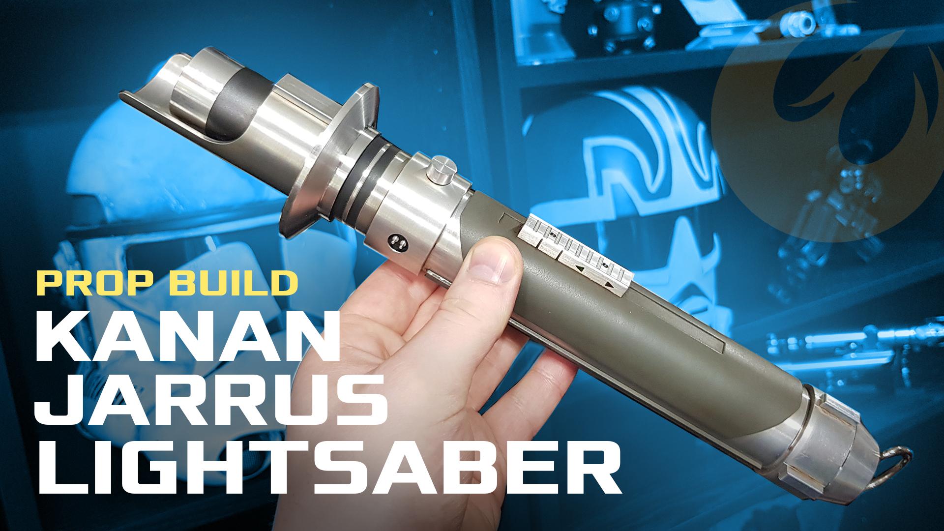 Kanan Jarrus Lightsaber Build (Solo'