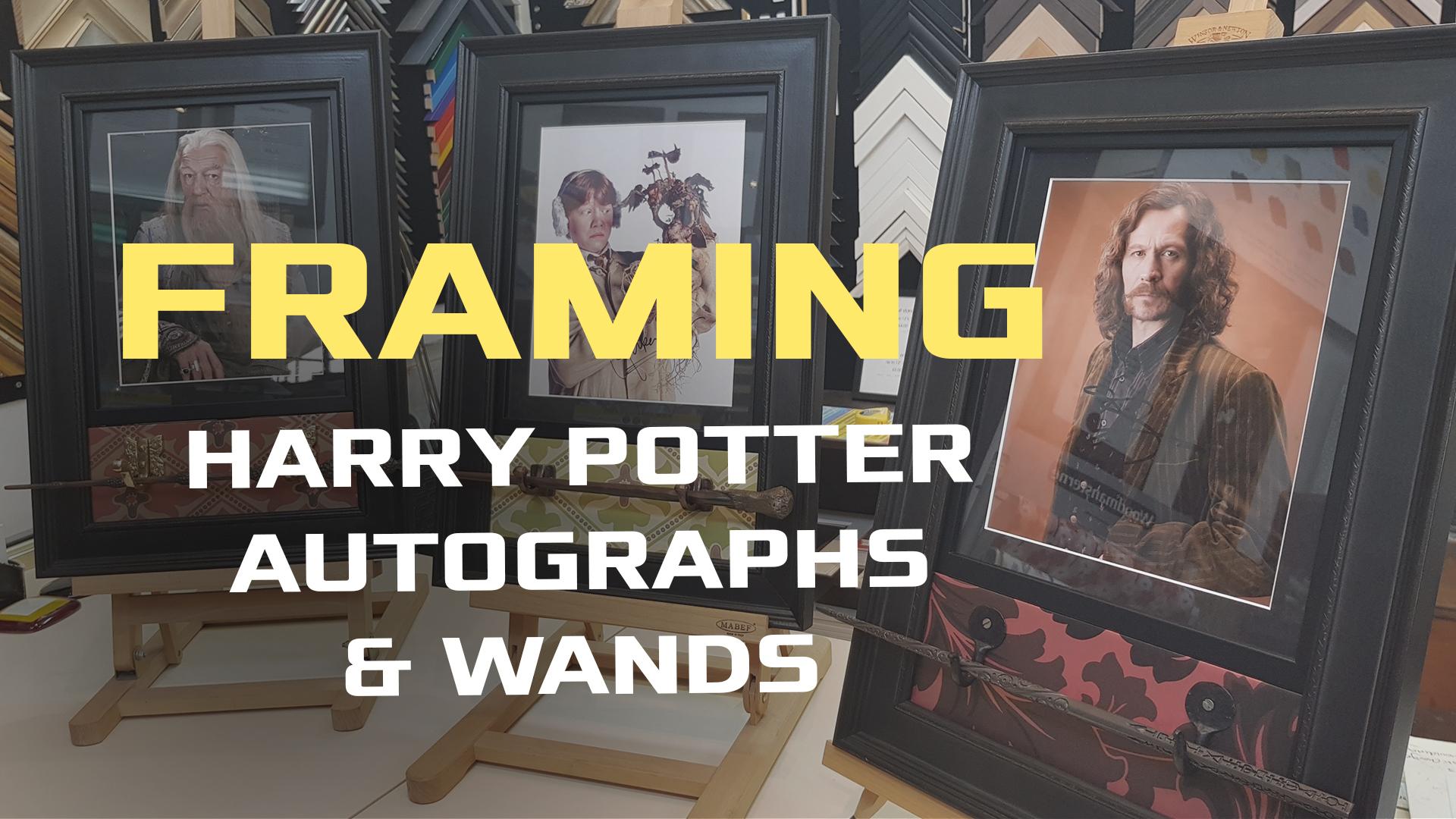 Harry Potter Autographs & Wands | Cu