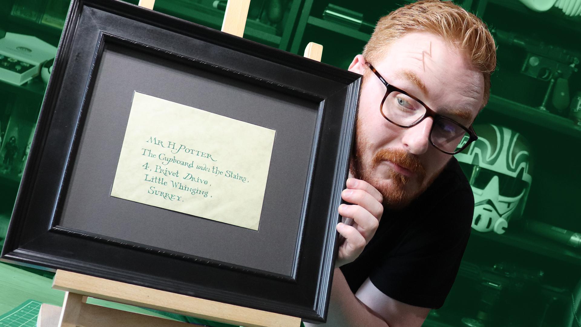 I have a REAL Hogwarts Letter! | Har
