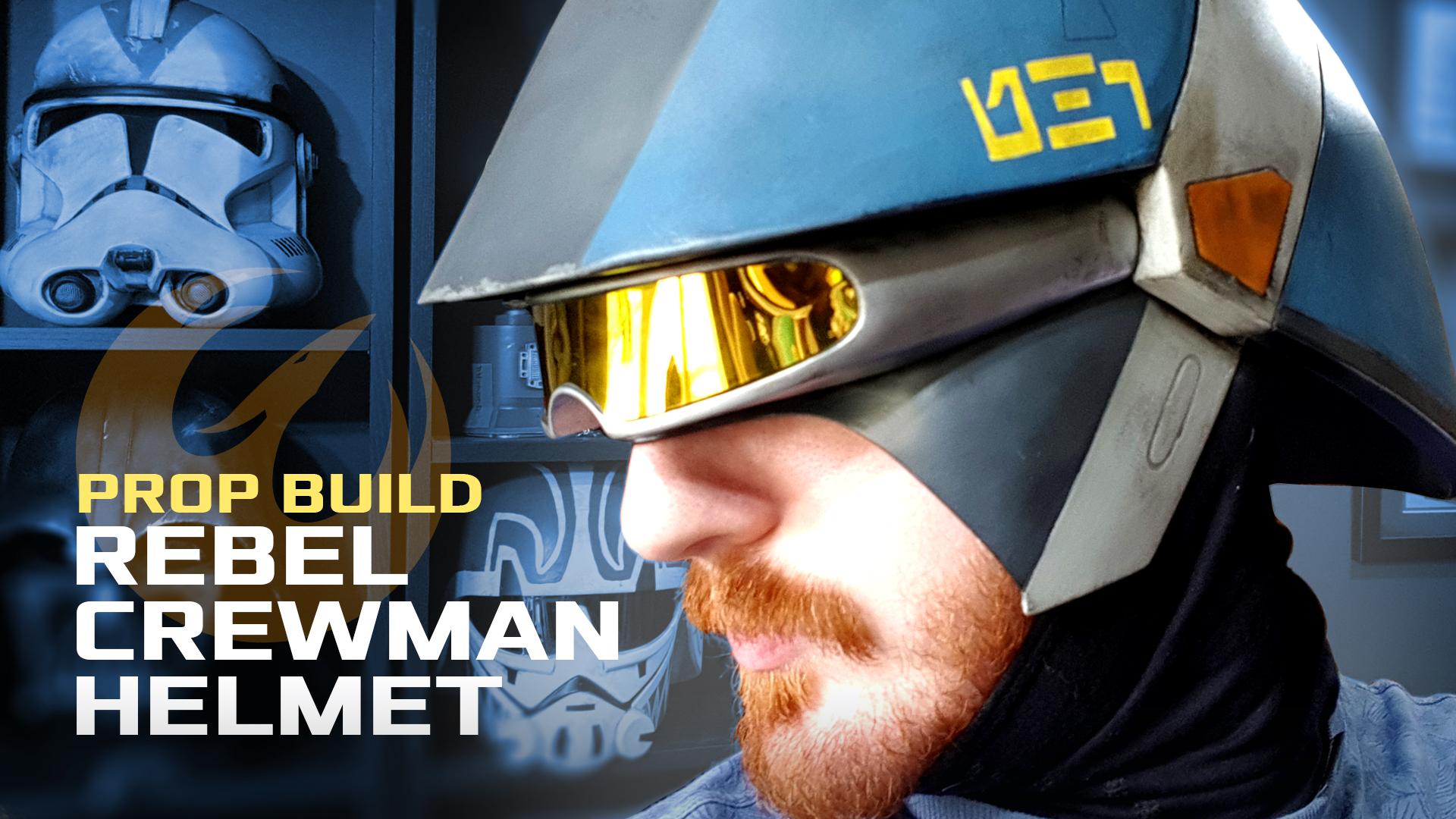 Rebel Crewman Helmet (3D Print)