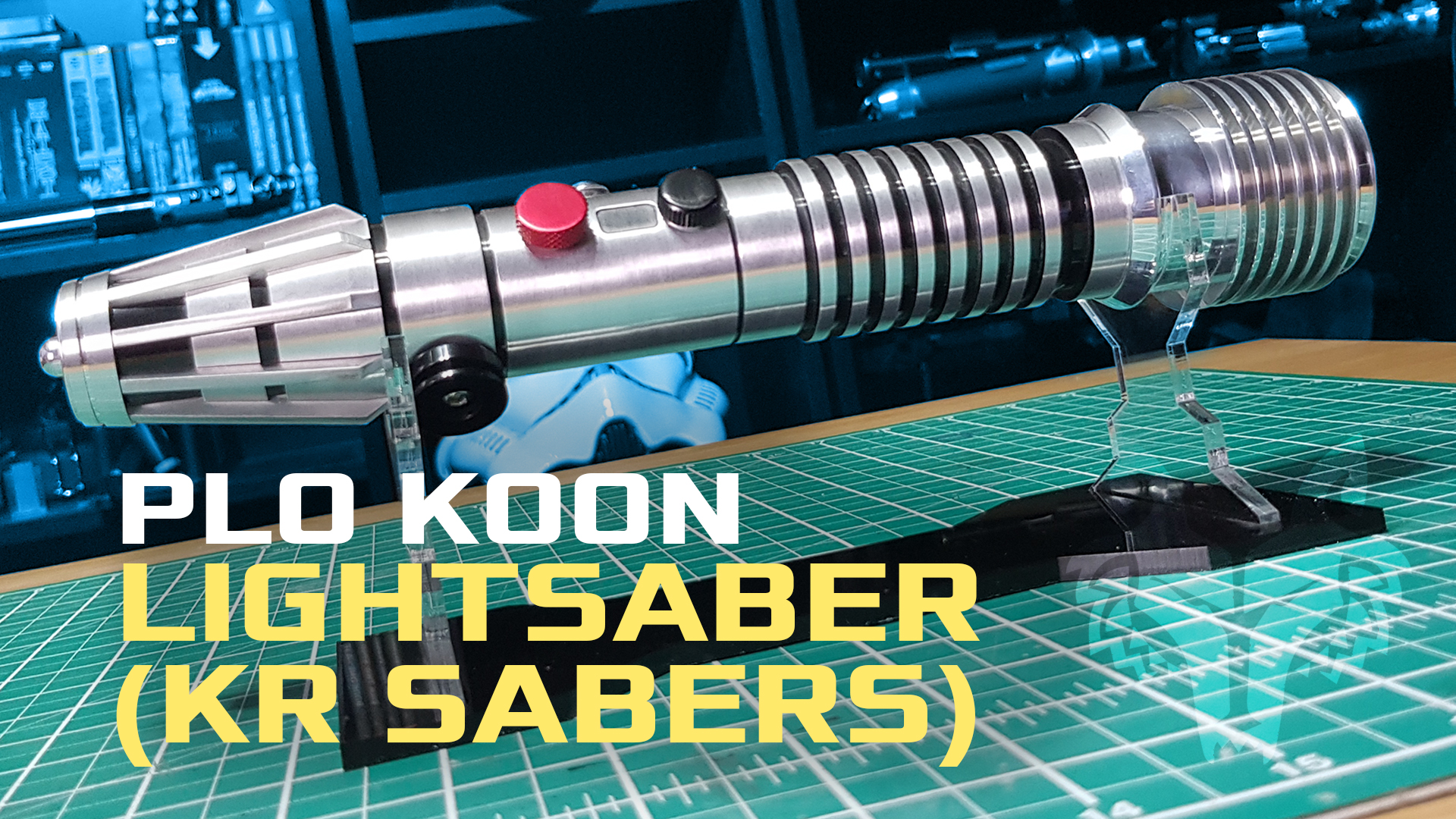 Plo Koon Lightsaber   (KR Sabers) Qu