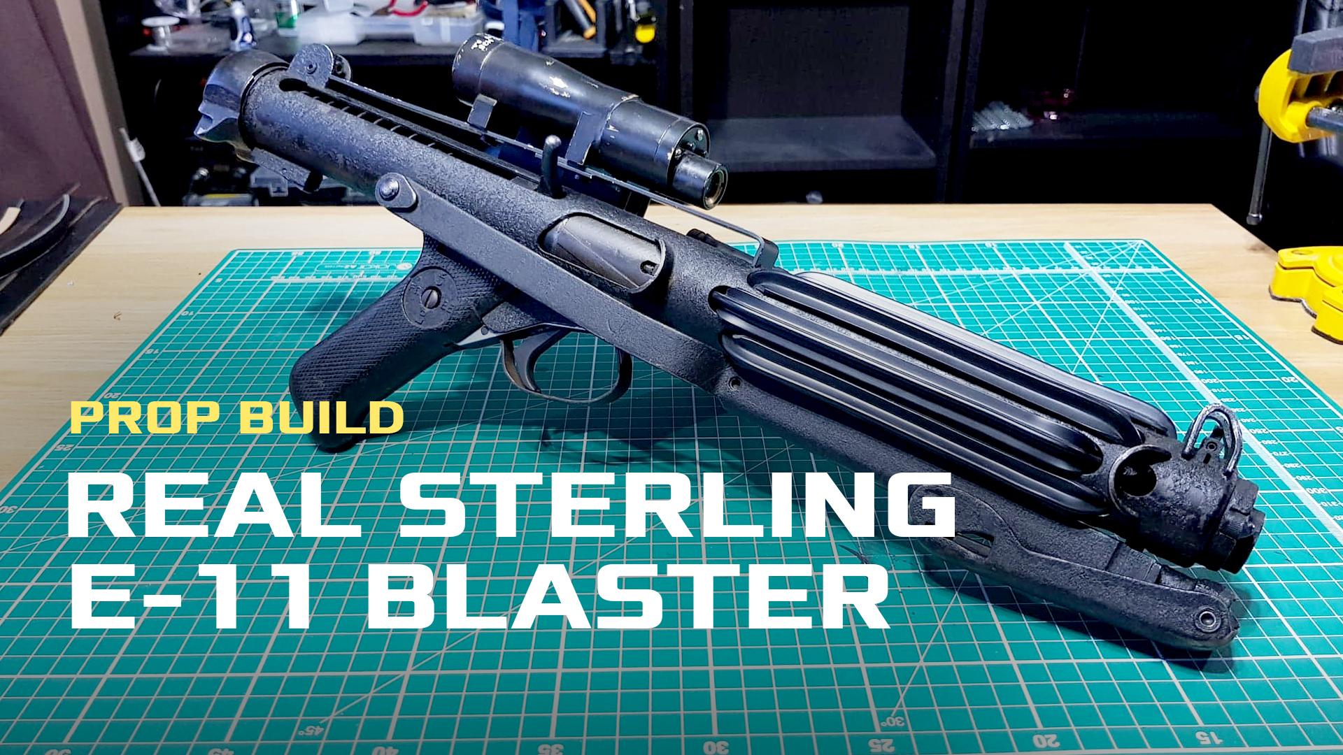 Real Sterling E-11 Blaster | BLASTER