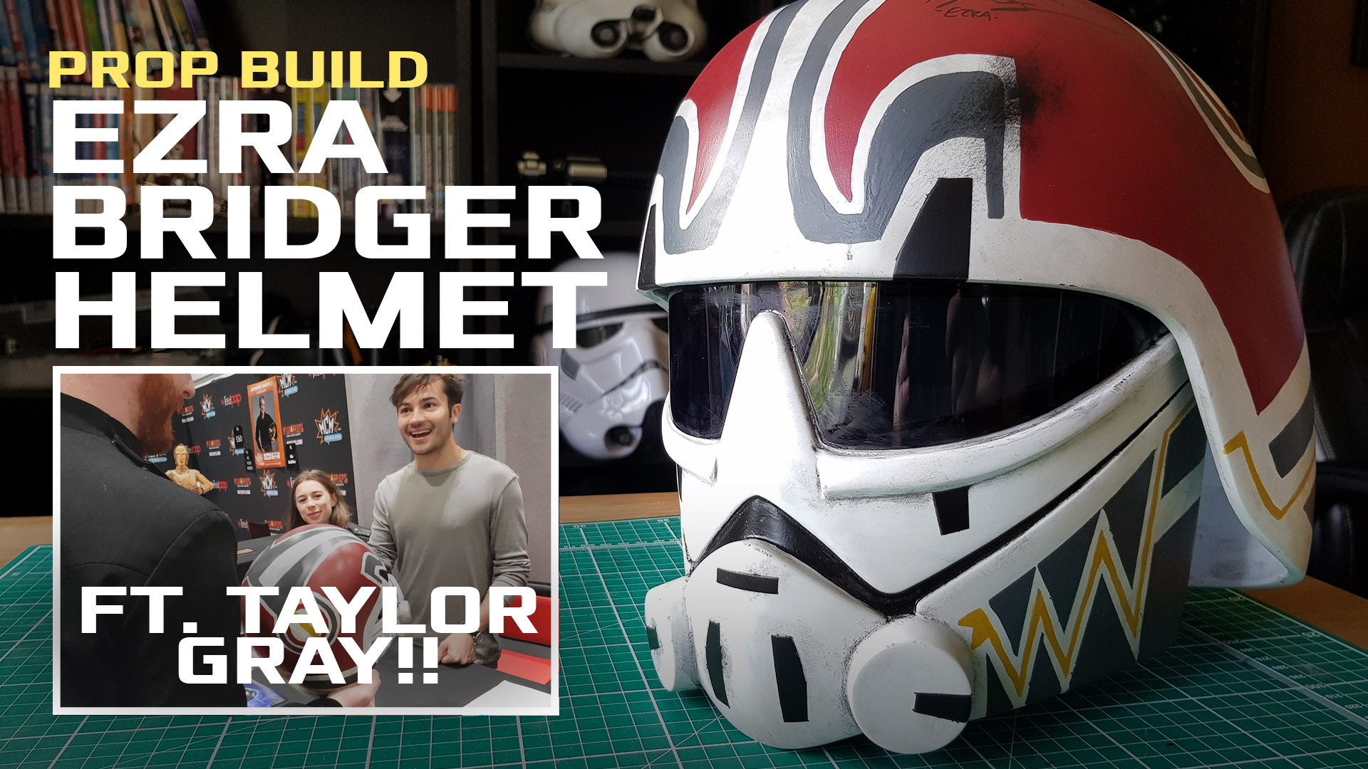 Ezra Bridger Helmet (ft. Ezra's Voi