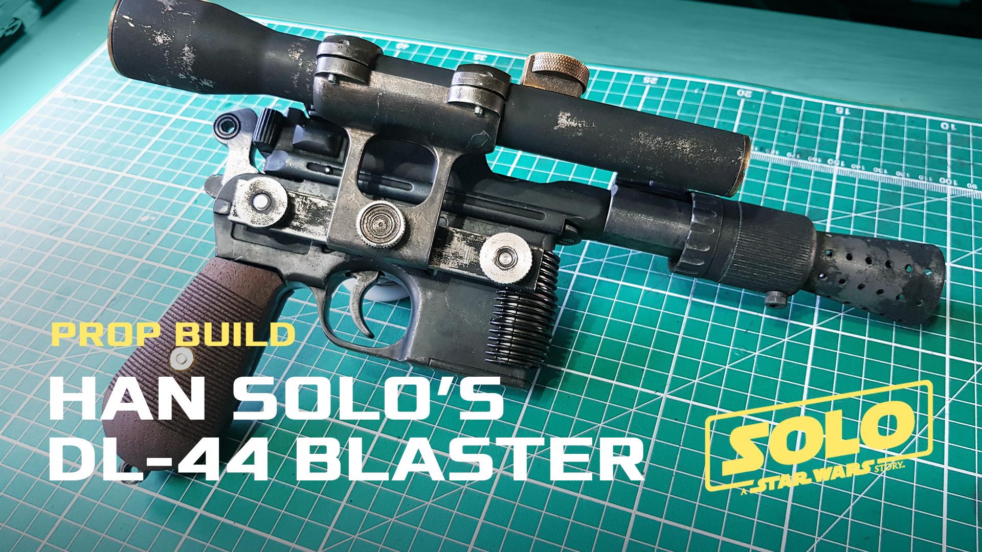 Han Solo's DL-44 Blaster - Parts | B