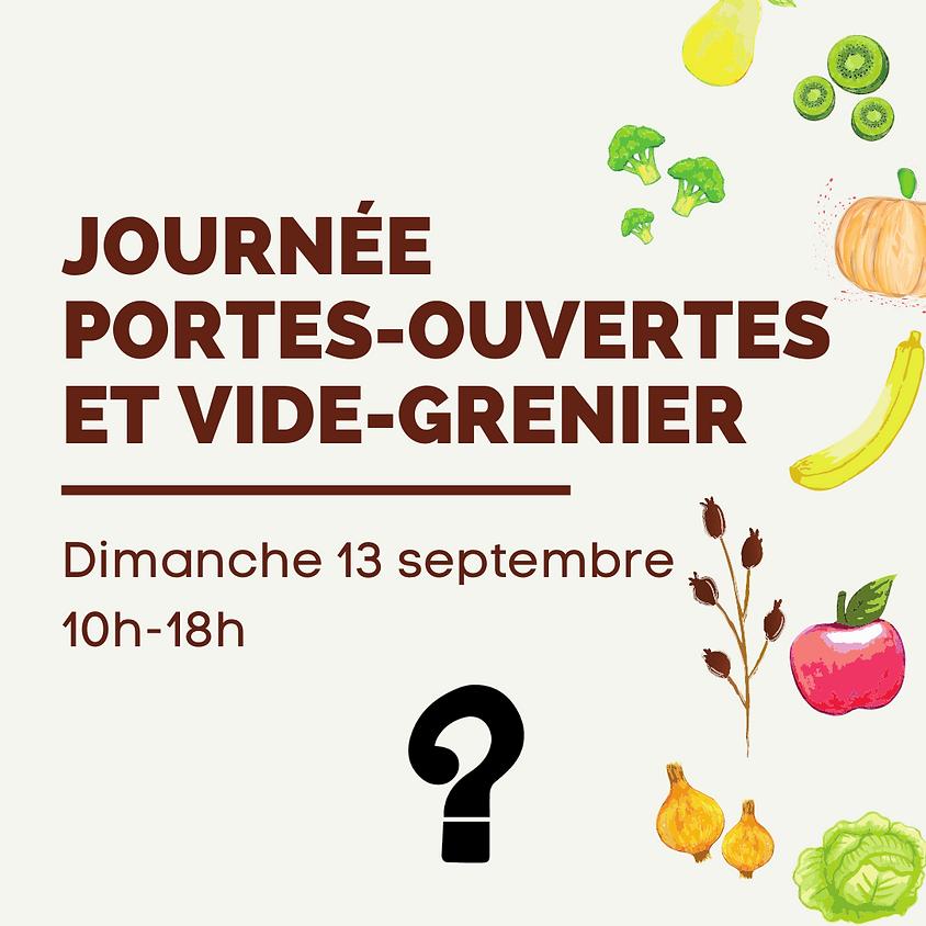 JOURNÉE PORTES OUVERTES ET VIDE-GRENIER