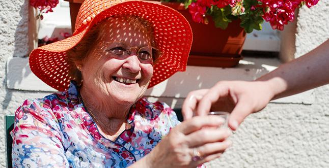 Canicule et personnes âgées :