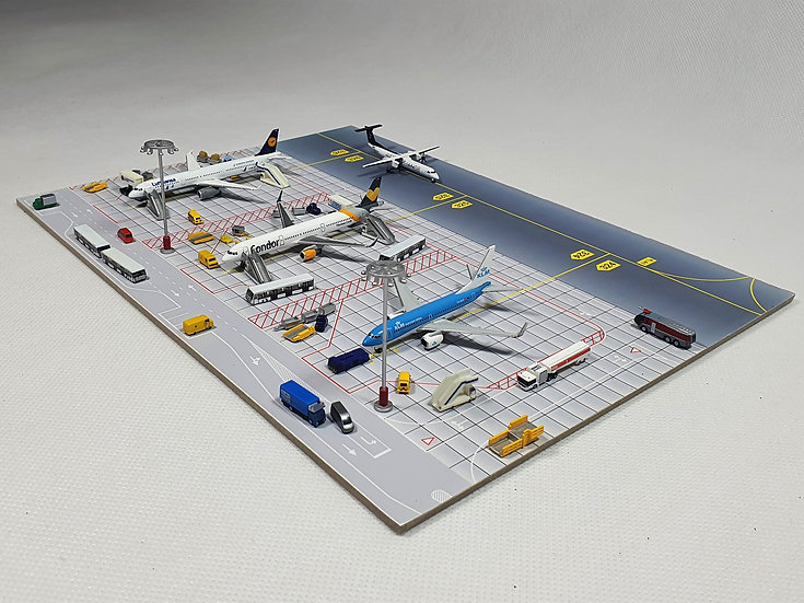 Small Diorama for 3 aircrafts
