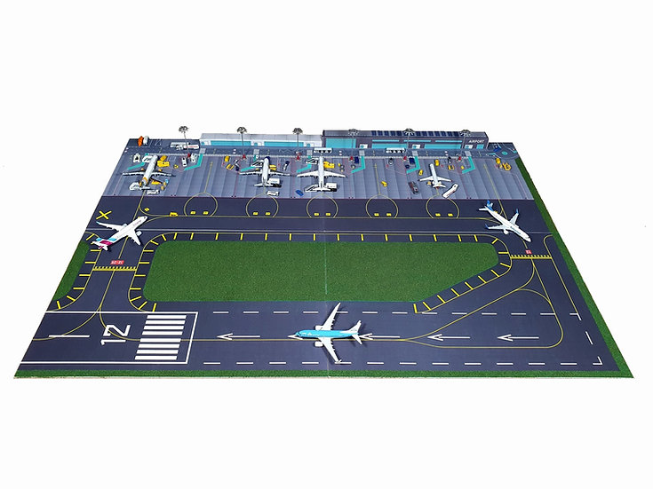 Regional Airport with runway