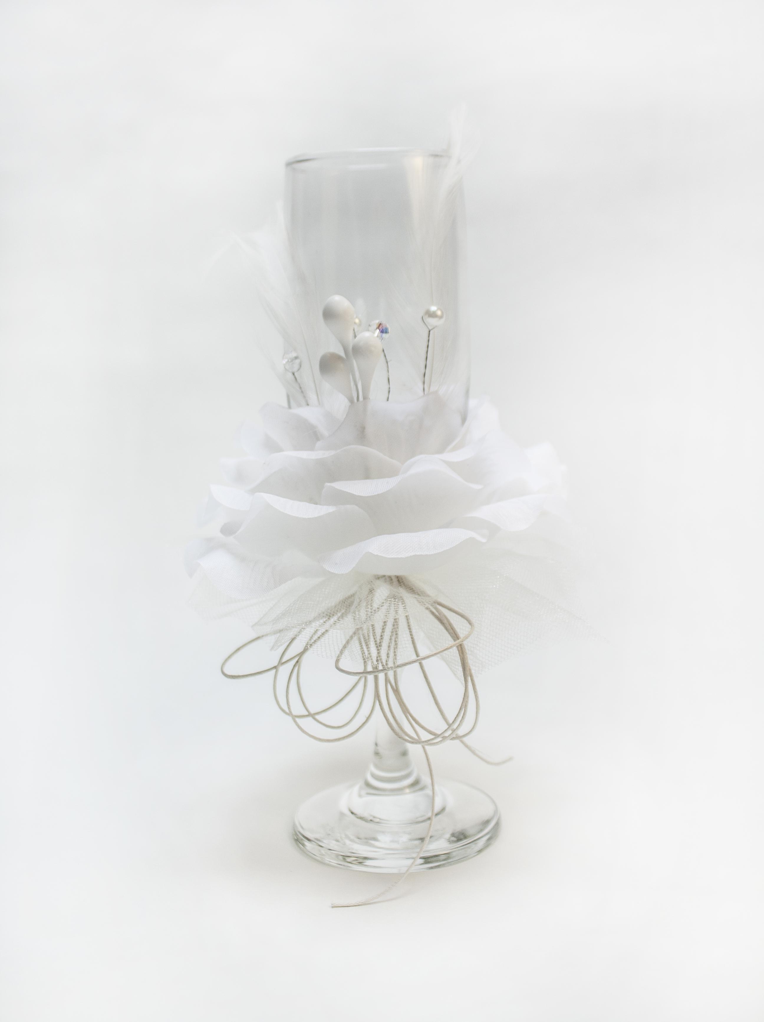 B-78 Copa con flor