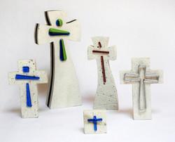 BO1 Cruces de cantera con vidrio