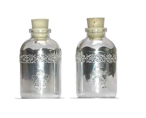 BA93 Botellitas agua bendita angelitos