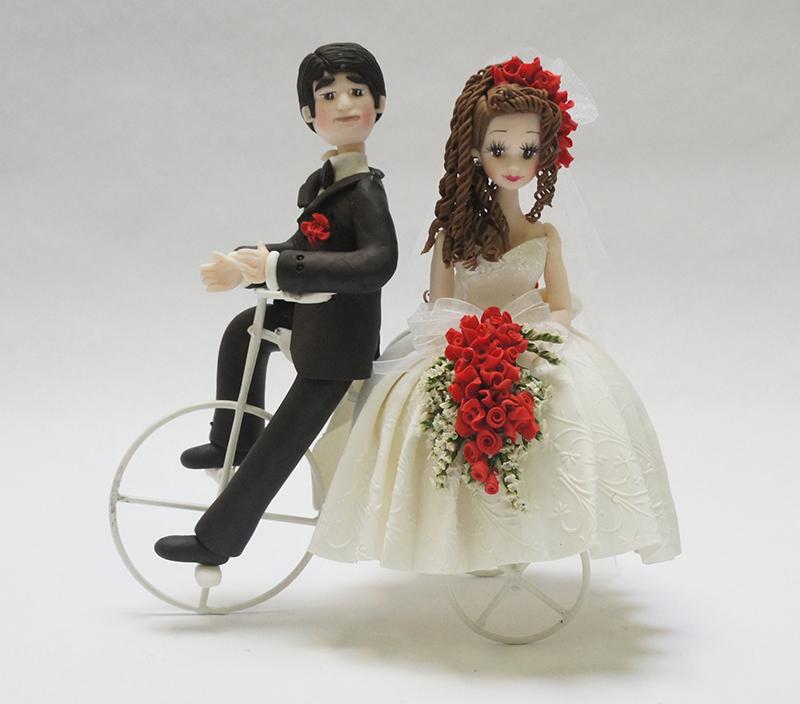 BO42 Novios en bicicleta