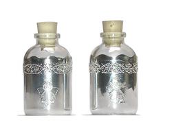 CO105 Botellitas agua bendita angelitos