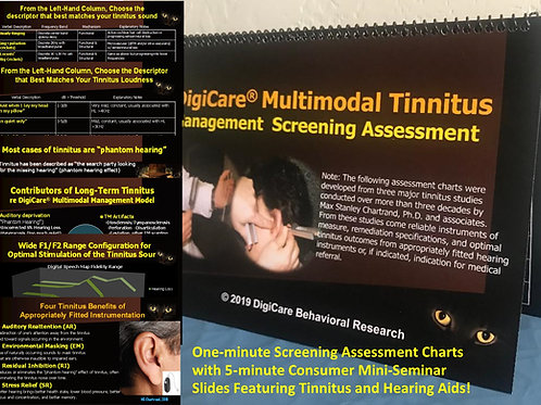 DigiCare Multimodal Tinnitus Management Screening Assessment