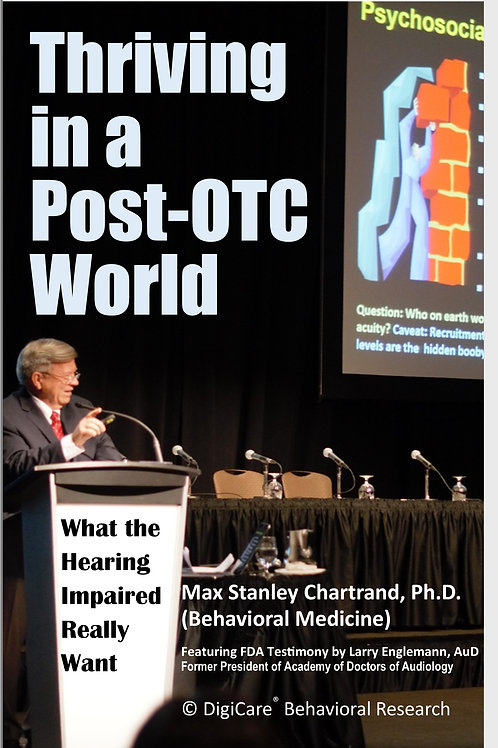 •	Thriving in a Post-OTC World:by Max Stanley Chartrand Ph.D