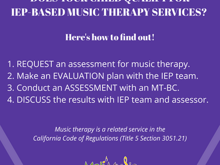 Does My Child Qualify for IEP Based Music Therapy?