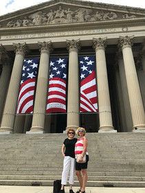 Members stopped at the National Archives while in Washington, D.C. for NSDAR Continental Congress 2018.