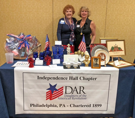 The Marketplace at State Conference raises money for Chapter activies.