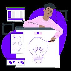 Graphics designing illustration - Rapidalley