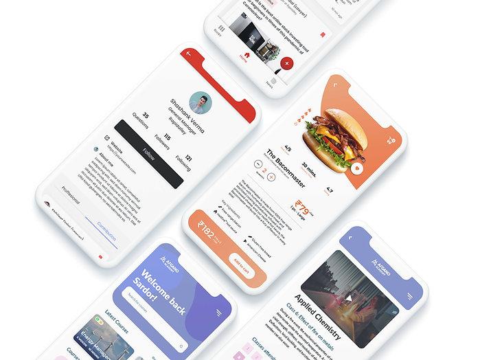 Application Design Mockup - Rapidalley