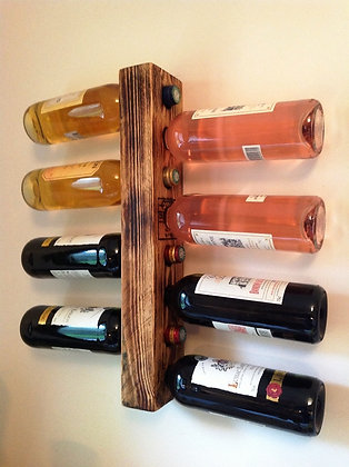 Porte-bouteilles de vin mural