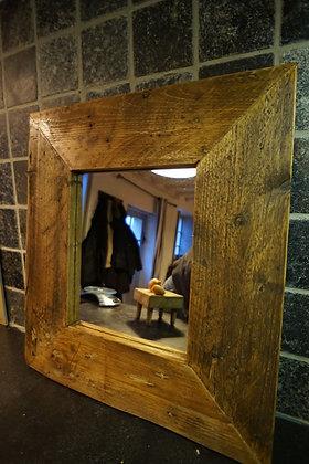 Miroir cadre bois