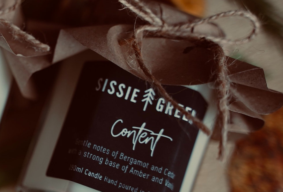 Content Soy Wax Candle