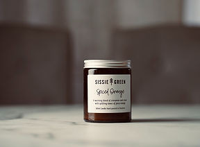 Sissie Green Soy Wax Candle