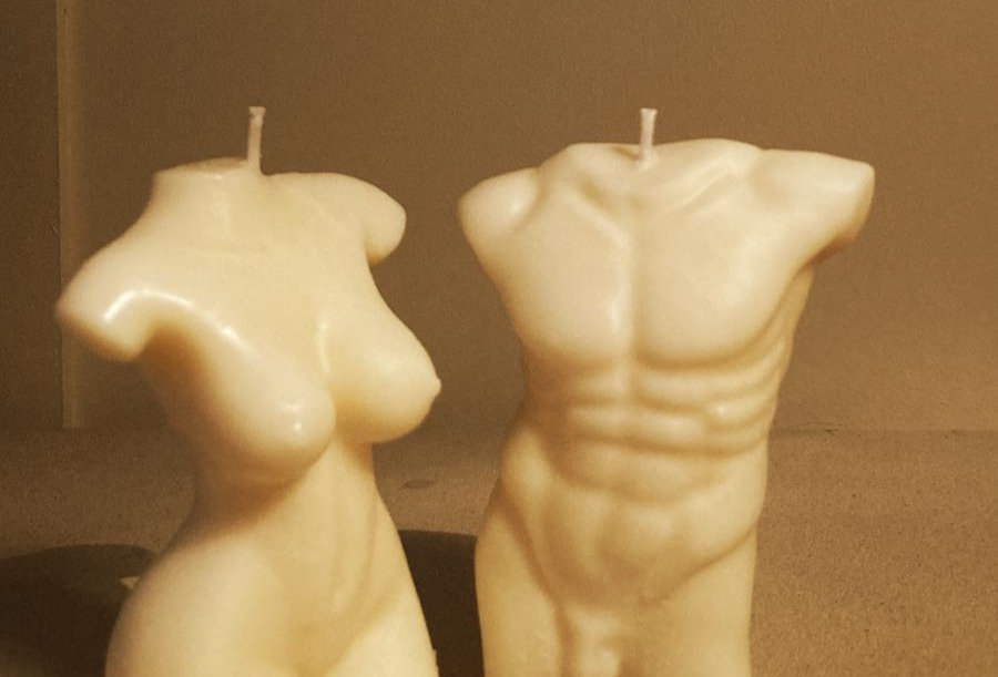 Aphrodite & Signore Soy Freestanding Candles