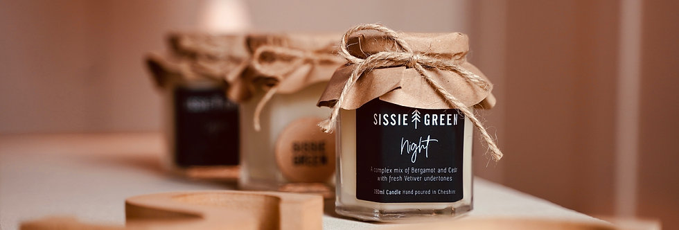 Night Soy Wax Candle