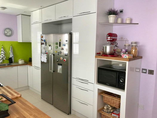 Classis White Gloss with Handles