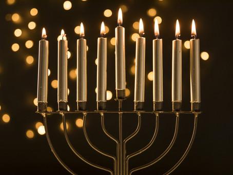 Hanuka a Festa da Dedicação.