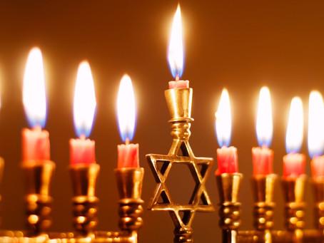 Hanukkah -  Eu celebro o que a Bíblia celebra!
