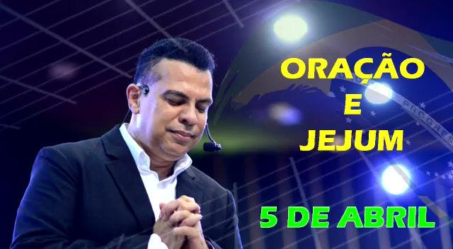 Ap. Renê Terra Nova convoca a Nação para Oração e Jejum pelo Brasil