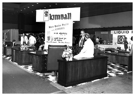 Kimball office furniture showroom