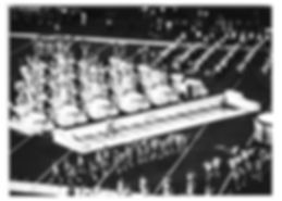 Kimball pianos being used for a performance during a football game